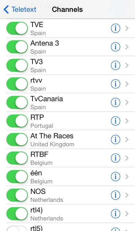 Teletext - TextTV screenshot-3