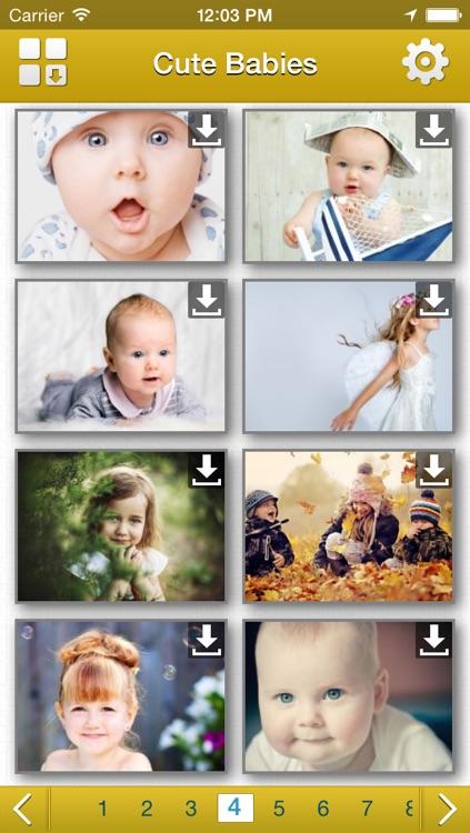 Cute Babies HD Wallpapers