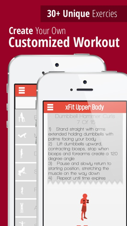 xFit Upper Body – Daily Workout for Sexy Lean Chest, Back and Arm Muscles