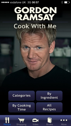 Gordon ramsay cook with me on the app store iphone screenshots forumfinder Images