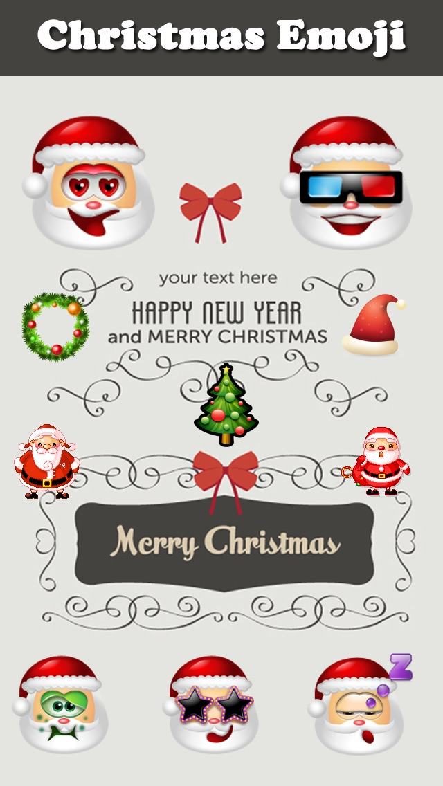 christmas emoji animated emoticon