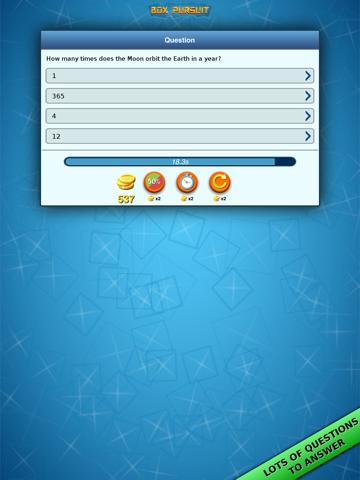 Box Pursuit: trivia quiz online | App Price Drops
