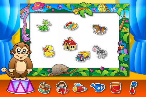 Preschool Colors Toys Train • Kids Love Learning Colors: Fun Interactive Educational Adventure Games with Animals, Cars, Trucks and more Vehicles for Children (Baby, Toddler, Kindergarten) by Abby Monkey® screenshot 4