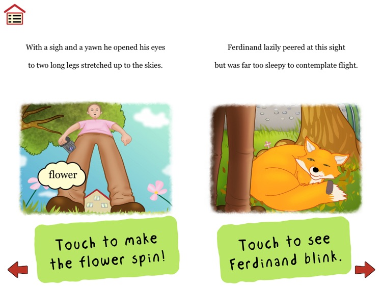 Ferdinand Fox's Big Sleep - interactive rhyming story book app for kids screenshot-4