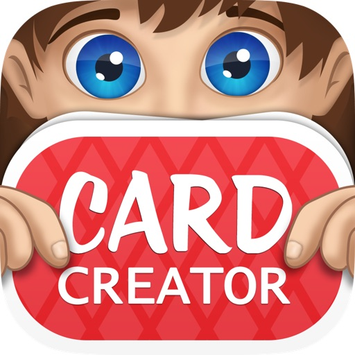 Charades Pop Card Creator! iOS App