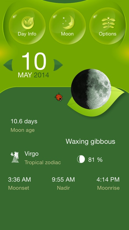 Moon Gardening Light - Grow Plants Better With Moon Phases screenshot-1