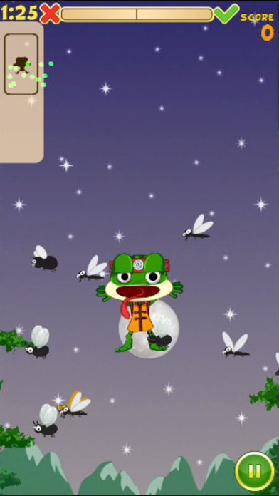 Hungry Frog Lite screenshot four