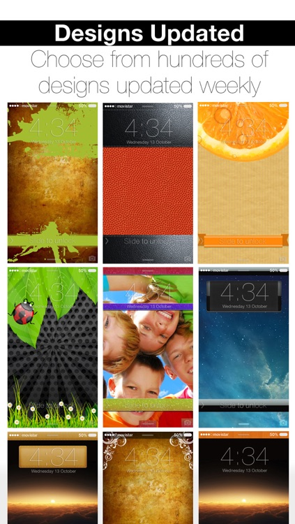 ScreenCreator - Design your Lock Screen with Calendars, Themes or Skins for Wallpaper screenshot-3