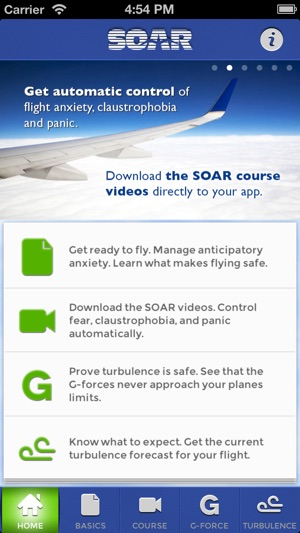SOAR Conquers Fear of Flying on the App Store
