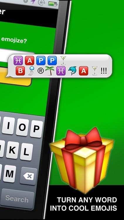 Emojizer Emoji Words and Names that Transform to Emoticons screenshot-4