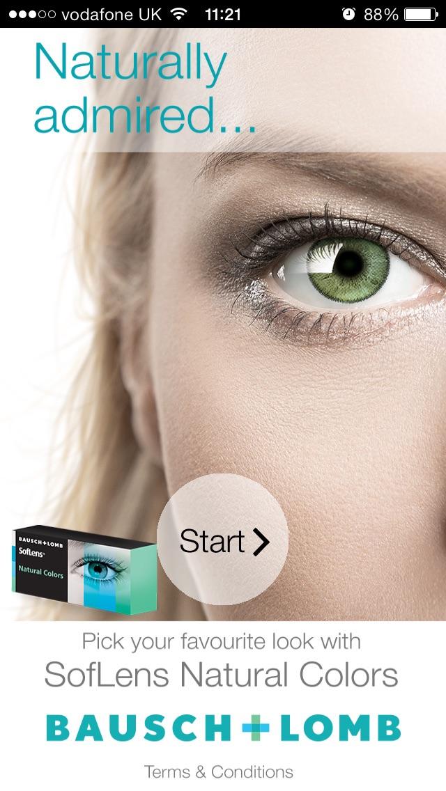Eye Colours Screenshot on iOS