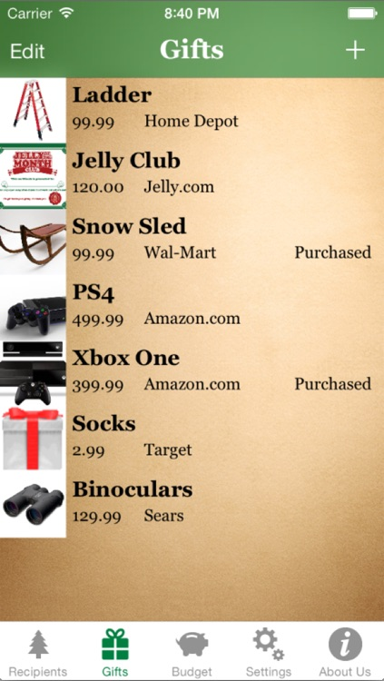 Santa's List - Christmas Gift Organizer screenshot-3