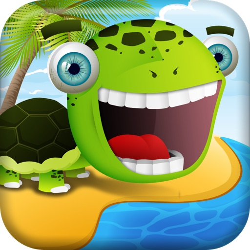 A Beach of Happy Frog & Friends Goes Boom FREE icon
