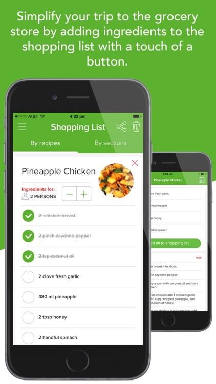 VideoMeals - Quick Simple Healthy Recipes screenshot-3