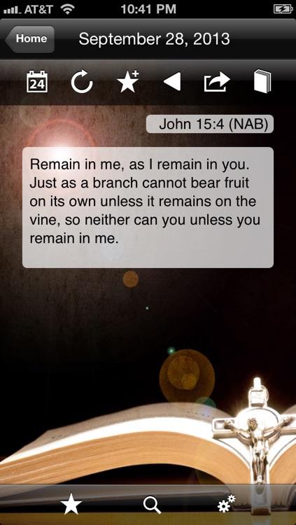 iMissal Catholic (Mass Reading, Calendar, Lectionary) screenshot-3