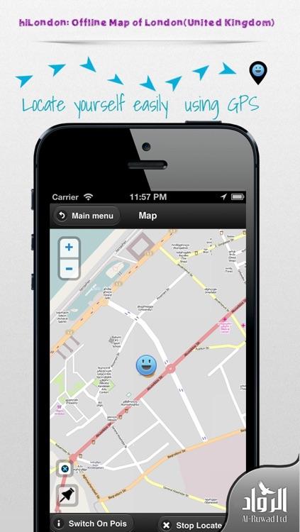 hiLondon: Offline Map of London(United Kingdom)