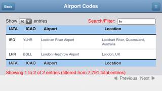 Airport Codes Databaseのおすすめ画像4