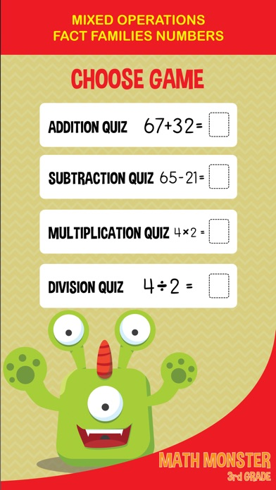 3rd Grade Math Games Multiplication And Division By Nuttapong