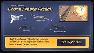 エアーコンバットドローンパイロットミサイル攻撃シミュレータ 3Dのおすすめ画像3