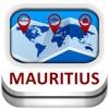 モーリシャス カイト&地図 - Duncan Cartography