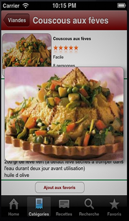 Cuisine Tunisienne screenshot-2