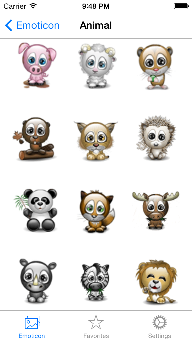 Animated 3D Emoji Emoticons Free - SMS,MMS,WhatsApp Smileys Animoticons Stickersのおすすめ画像5