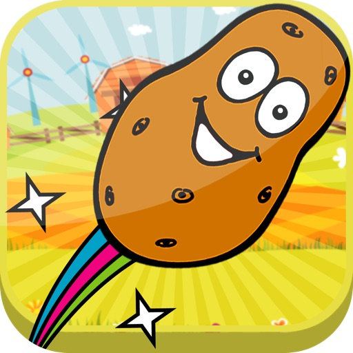 Awesome Potato Toss Game By Crazy Flying Action Pro
