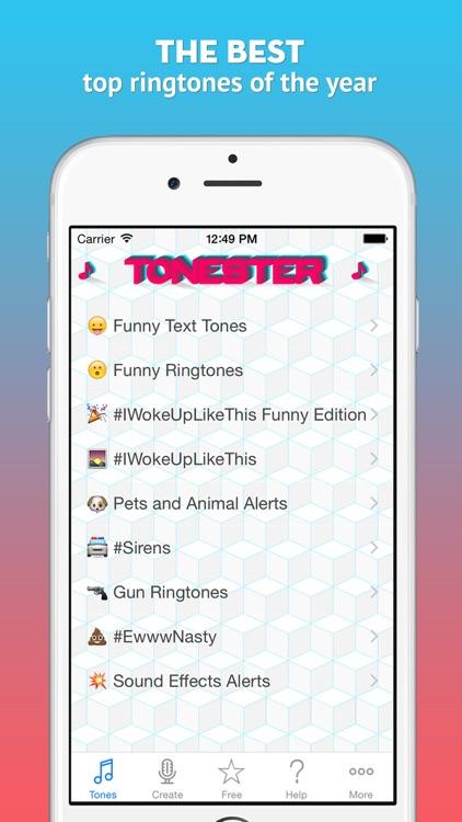 Tonester - Download ringtones and alert sounds for iPhone screenshot-3