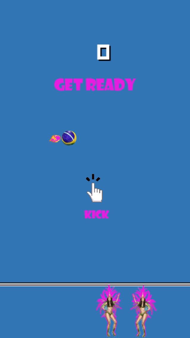 ブラジルサッカーカウントダウン   (Mighty Football Boom - The World Best Countdown to Beach-es of Brazil Action Sport Game)のスクリーンショット3