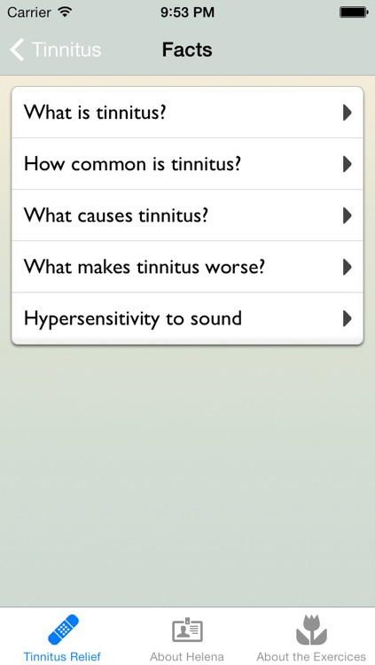 Tinnitus Relief by Helena Löwen-Åberg screenshot-1