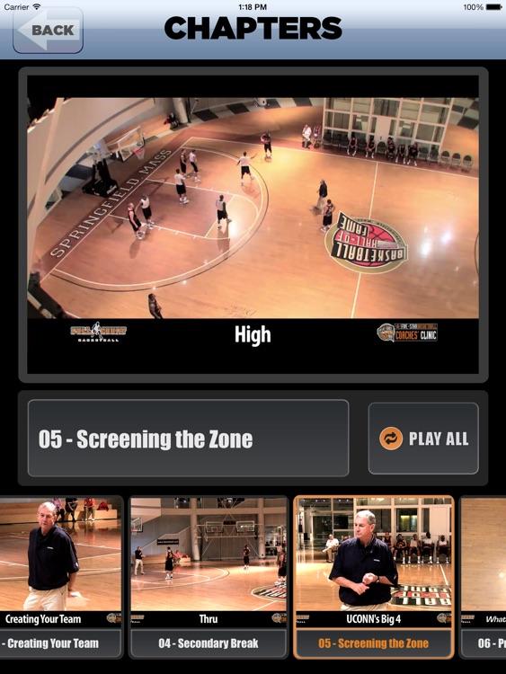 Winning Basketball: Championship Coaching - With Coach Jim Calhoun - Full Court Basketball Training Instruction - XL screenshot-3