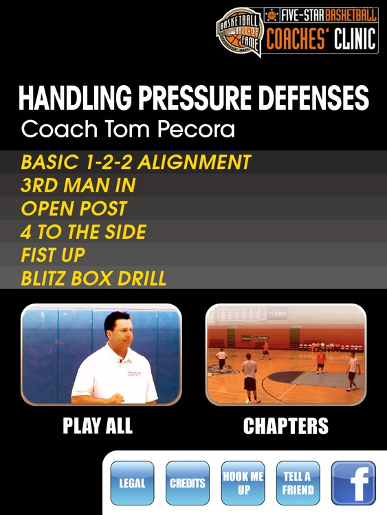 Handling Pressure Defenses: How To Penalize Aggressive Teams - With Coach Tom Pecora - Full Court Basketball Training Instruction - XL