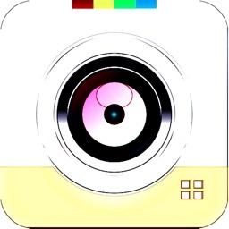 Fisheye Lens - camera fisheye live filter with lomo old film & colors