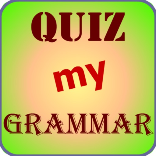Quiz My Grammar (Improve your grammar skills) icon