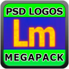 Logo Templates Mega Pack! for Adobe Photoshop with PSD Files - AppMaven, LLC