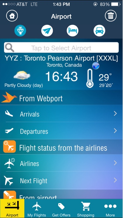 Toronto Airport (YYZ) Flight Tracker Pearson screenshot-1