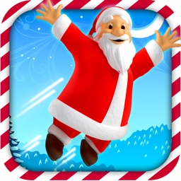 Bouncing Santa Claus Free - Jump on Trampoline Catch All The Presents - Free Version