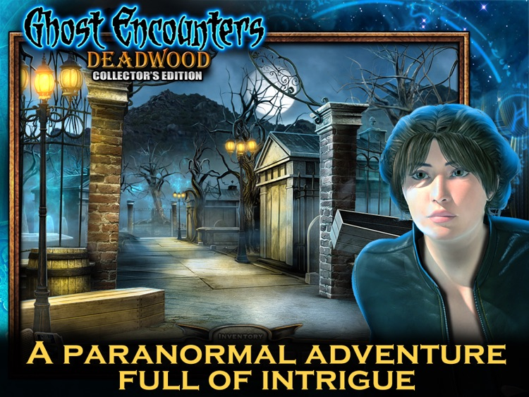 Ghost Encounters: Deadwood HD - A Hidden Object Adventure screenshot-0