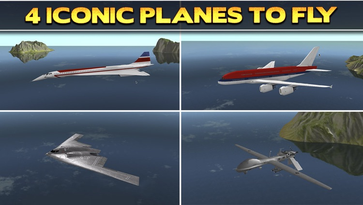 3D Plane Flying Parking Simulator Game - Real Airplane Driving Test Run Sim Racing Games