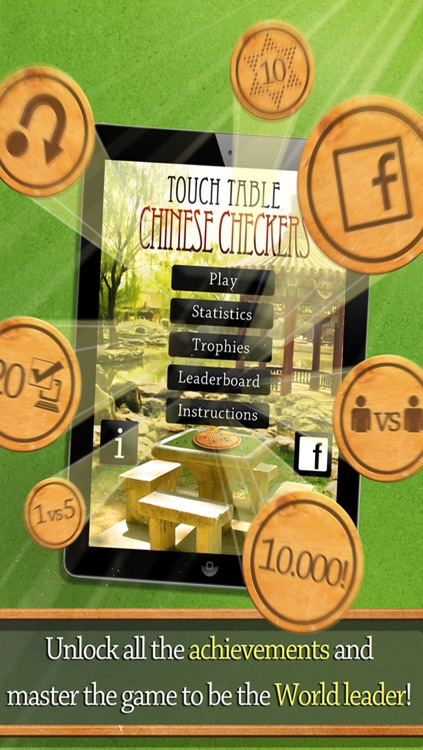 Touch Table Chinese Checkers screenshot-4