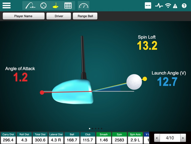FlightScope Xi+ screenshot-2