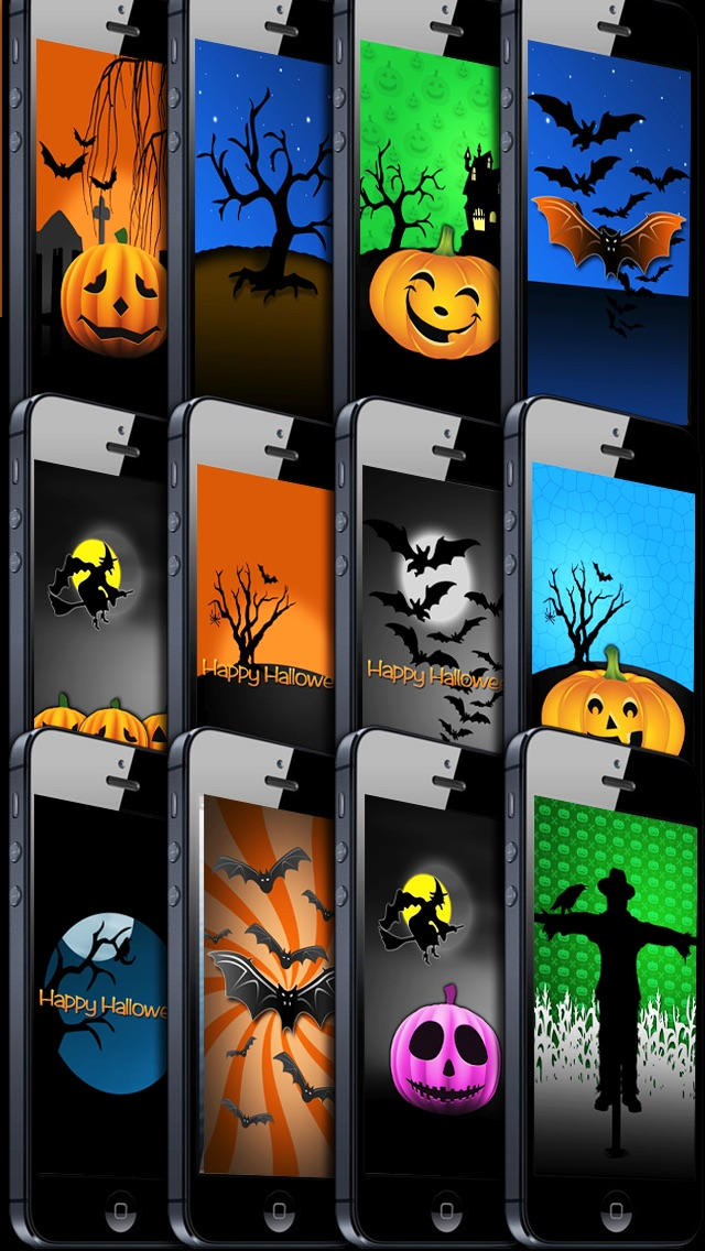 halloween mashup free spooky wallpaper themes backgrounds app