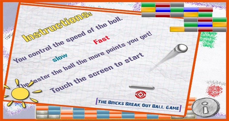 The Bricks Break Out Ball Game Lite screenshot-4