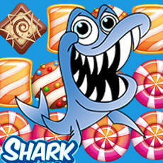 Activities of Sharks Dash Shooting Candy Match Puzzle For Kids