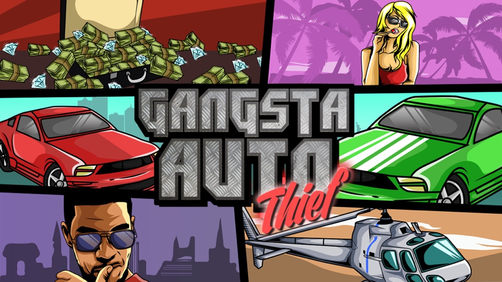 Gangsta Auto Thief: Hijack Hustle in West-Coast City (Crazy Extreme Chasing Hip-Hop for Adults, Boys, & Kids 12+)