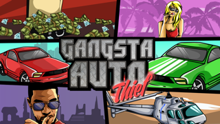 Gangsta Auto Thief: Hijack Hustle in West-Coast City (Crazy Extreme Chasing Hip-Hop for Adults, Boys, & Kids 12+)のおすすめ画像1