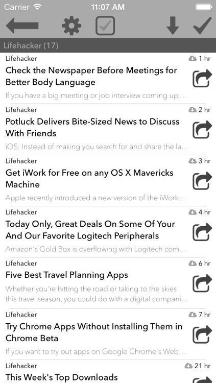 Seed Reader: Newsreader for RSS & Online Feeds