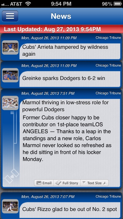 Chicago C Baseball Live screenshot-3