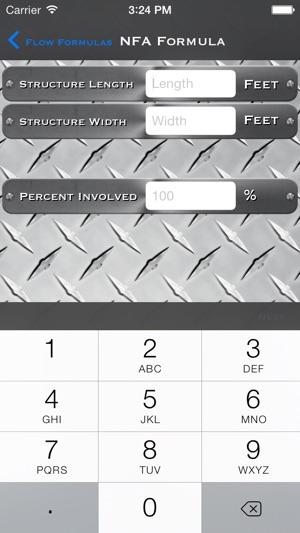 Fire Flow / Pump Pressure Calculator