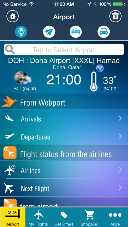 Doha Airport Pro (DOH) Flight Tracker screenshot-1